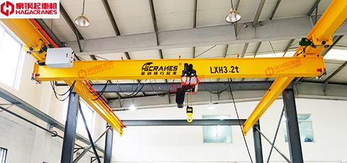豪钢为泰科电子提供单梁悬挂式起重机案例