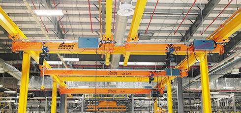 豪钢与长安福特就起重吊装设备合作案例