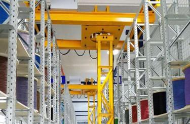豪钢起重机为东风本田汽车公司提供两台悬挂旋转式起重机