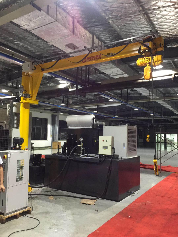 豪钢悬臂吊成功应用于上海格尔汽车,助力格尔汽车零部件生产