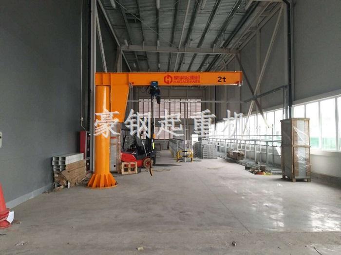 上海大众动力总成:选豪钢悬臂吊冲的就是质量