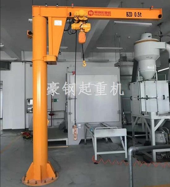 中国石油管道公司定制豪钢悬臂起重机
