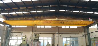 上海热大热处理订购电动葫芦桥式起重机一台