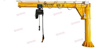 豪钢优质悬臂吊为上汽大众生产工作提供助力