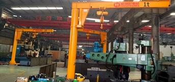东毓(宁波)向豪钢定购3台1吨重悬臂吊