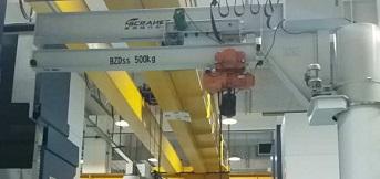 上海富士达电梯研发公司定制可伸缩旋臂起重机