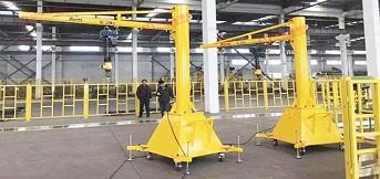 可移动式悬臂吊安全操作规程