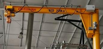 德国克朗斯集团向豪钢定制200kg悬臂吊