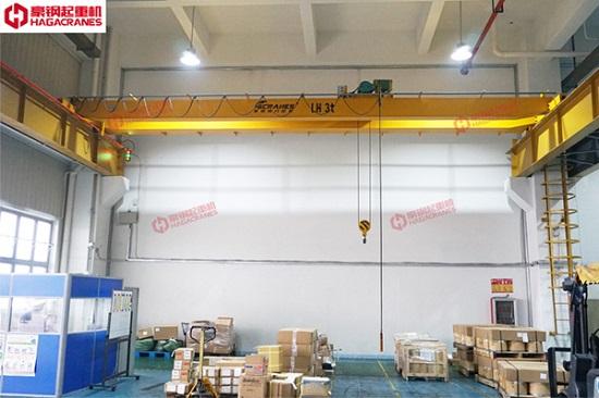 豪钢公司电动单梁起重机的产品优势