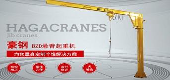 启东中远海运海洋工程与订购豪钢0.5吨和2吨旋臂吊