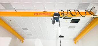 西班牙尼古拉斯克雷亚机床公司订购豪钢4套1吨单梁悬挂起重机
