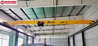 生产车间高度不够如何选择起重机?