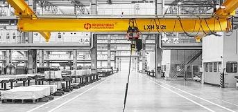 欧式单梁悬挂起重机的优势特点