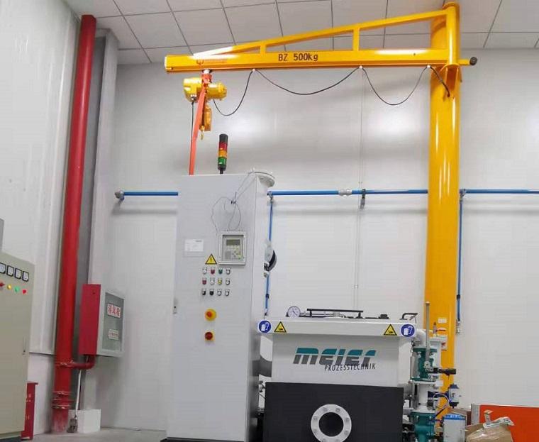 BZ型500kg定柱式悬臂吊