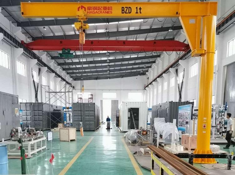 BZD型1吨定柱式悬臂起重机